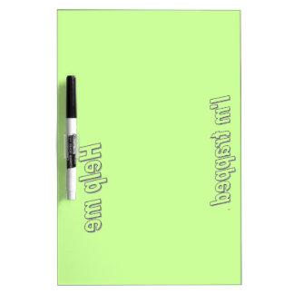 Seque el borrado Board2.6 Pizarras Blancas De Calidad