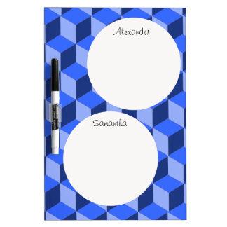 Seque el borrado - centro personalizado del mensaj tableros blancos
