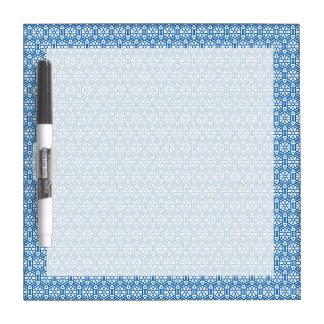 Seque el borrado - hexágono y las barras tableros blancos