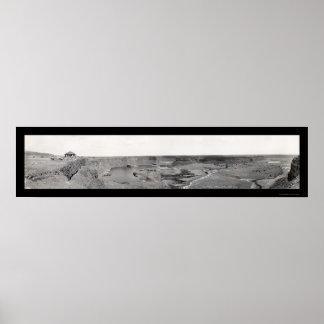 Seque la foto magnífica 1936 de Coulee de las caíd Poster