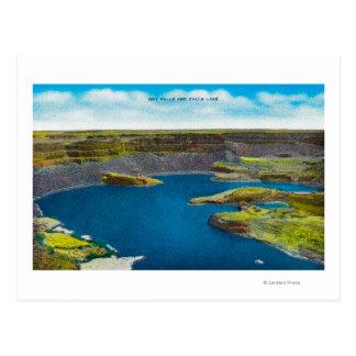 Seque las caídas y cae lago, presa magnífica de postales