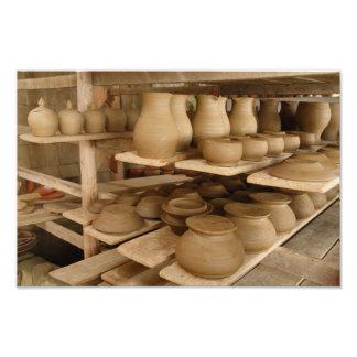 Sequedad de la cerámica fotografía