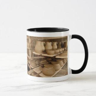 Sequedad de la cerámica taza