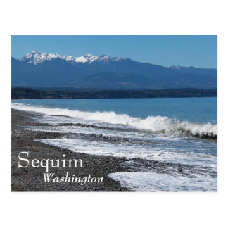 Sequim, Washington Travel Postcard