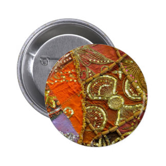 sequin 2 inch round button