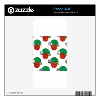 sequin christmas dots skin for the iPhone 4S