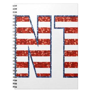 sequin Clinton Notebook