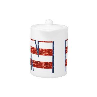 sequin Clinton Teapot