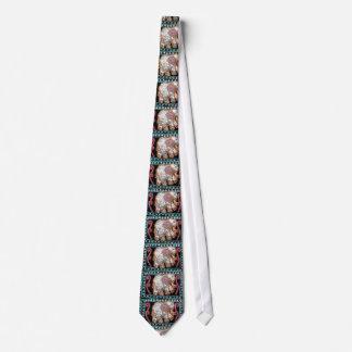 sequin elephant mens neck tie