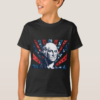 sequin george washington T-Shirt