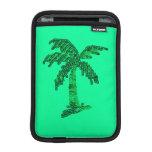 Sequin Grunge Palm Tree Image iPad Mini Sleeve