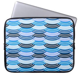 Sequin Pattern (blue) Laptop Sleeve