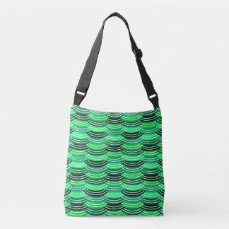 Sequin Pattern (green) Crossbody Bag
