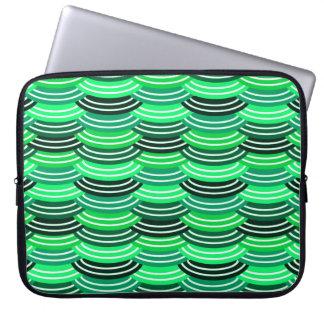 Sequin Pattern (green) Laptop Sleeve