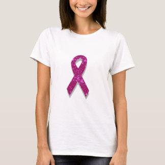 sequin pink breast cancer awareness T-Shirt