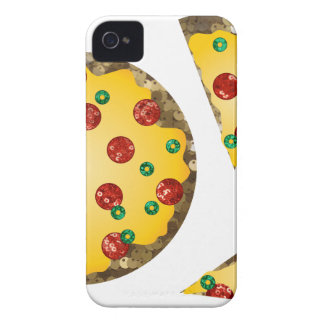 sequin pizza iPhone 4 case