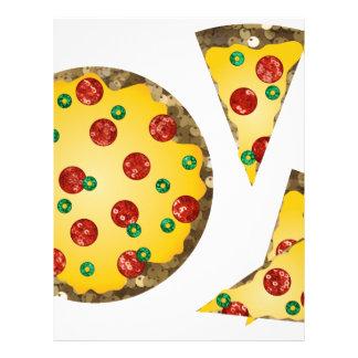 sequin pizza letterhead