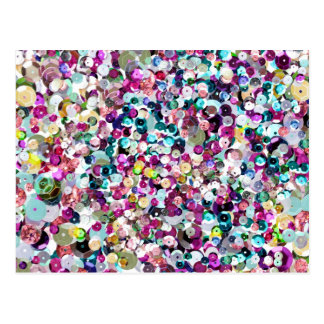 Sequin Sparkles Postcard