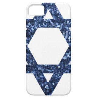 sequin star of david iPhone SE/5/5s case