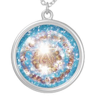 Sequin Sun Necklace