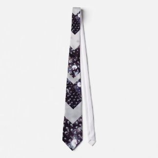 Sequin Tie Chevron Design