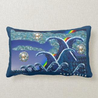 Sequin Waves | Throw Pillow | Australia