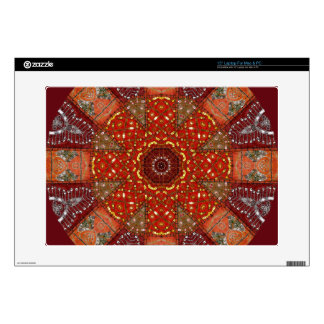 """Sequined Tapestry 2 Decal For 15"""" Laptop"""