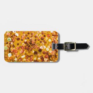 Sequins and Pins Bag Tag