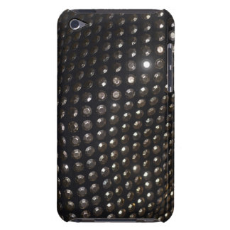 Sequins and Studs on Black iPod Case-Mate Case