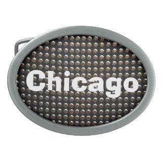 Sequins Chicago Belt Buckle