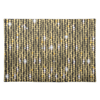 Sequins Gold Placemat