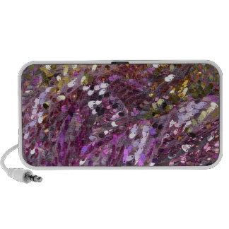 Sequins Rainbow Color Sparkle Jewel Travelling Speaker
