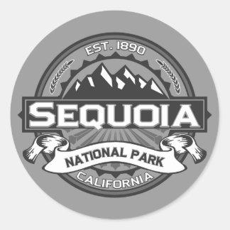 Sequoia Ansel Adams Classic Round Sticker
