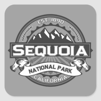 Sequoia Ansel Adams Square Sticker