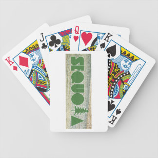 Sequoia Bicycle Playing Cards