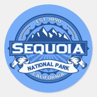 Sequoia Cobalt Classic Round Sticker
