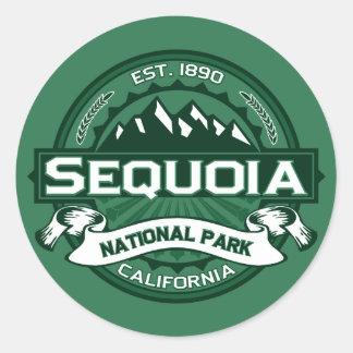 Sequoia Forest Classic Round Sticker