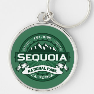 Sequoia Forest Keychain