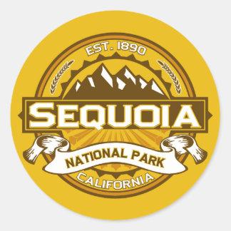 Sequoia Goldenrod Classic Round Sticker
