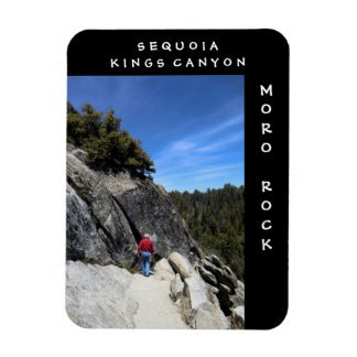 Sequoia Kings Canyon Moro Rock Magnet