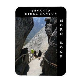 Sequoia Kings Canyon Moro Rock Magnet