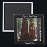 """Sequoia/Kings Canyon National Park Magnet<br><div class=""""desc"""">Get several Sequoia/Kings Canyon National Park magnets to remember your trip and send a few to your family and friends. And check out the other national parks magnets at www.zazzle.com/photog4jesus*.</div>"""