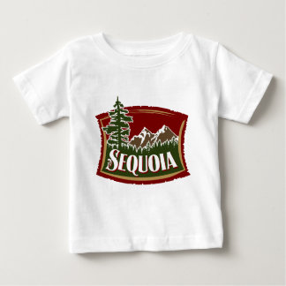Sequoia Mountain Scene Baby T-Shirt