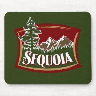 Sequoia Mountain Scene Mouse Pad