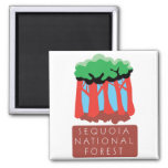 Sequoia National Forest Fridge Magnets