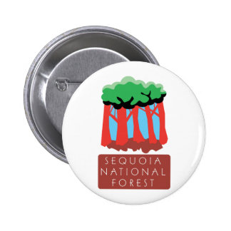 Sequoia National Forest Pinback Buttons