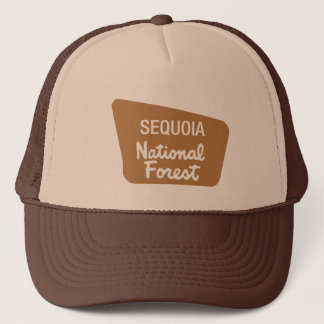 Sequoia National Forest (Sign) Trucker Hat