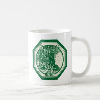 Sequoia National Park 1939 Vintage Coffee Mug