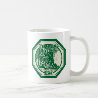 Sequoia National Park 1939 Vintage Classic White Coffee Mug