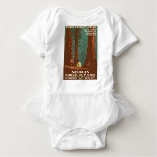 Sequoia National Park Baby Bodysuit